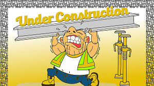 under construction, coming soon, site